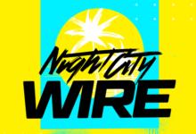 صورة الإعلان عن تأجيل فعالية Night City Wire الخاصة بلعبة Cyberpunk 2077 .