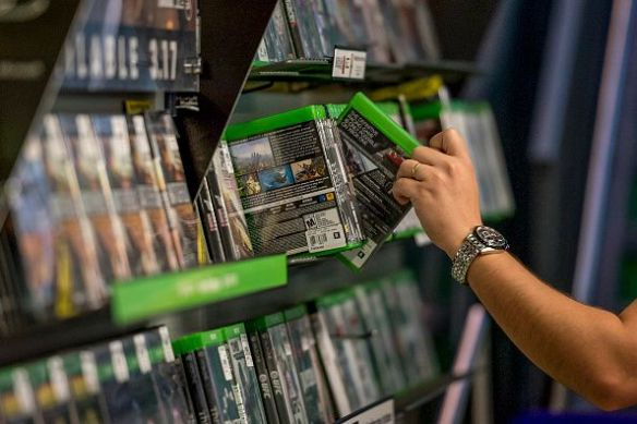 buying physical video games