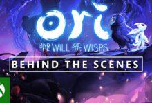 صورة استعراض جديد لكواليس الحان لعبة Ori and the Will of the Wisps