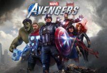 صورة استعراض لبعض ازياء ابطال لعبة Avengers