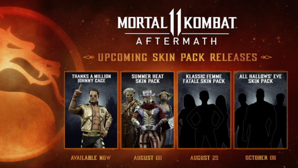 MK11 Aftermath Skinpacks Roadmap