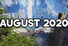 صورة قائمة اصدارات شهر اغسطس 2020