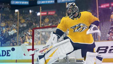 صورة إعلان عن موعد إطلاق لعبة NHL21 مع تأكيد وجود التوافق المسبق لنسخة الجيل الحالي