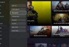 صورة اول نظرة على الشكل الجديد لمتجر Xbox Store الرقمي