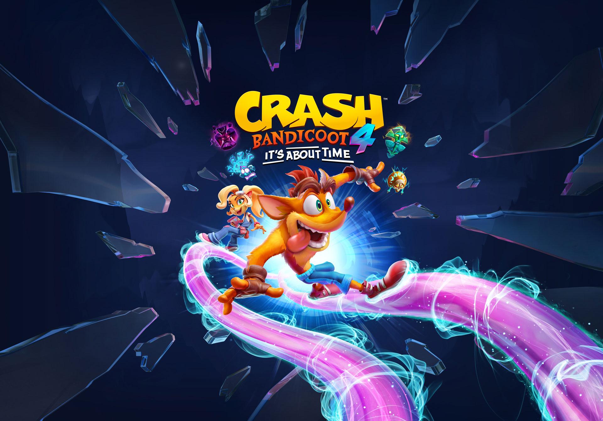 Photo of لنشاهد استعراض جديد لأسلوب لعب Crash Bandicoot 4