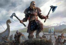 صورة استعراض جديد لقتال مخلوقات لعبة Assassin's Creed Valhalla
