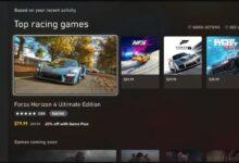 صورة الشكل الجديد لمتجر Xbox Store أصبح متوفر الآن لبعض المشتركين ببرنامج Xbox Insiders .