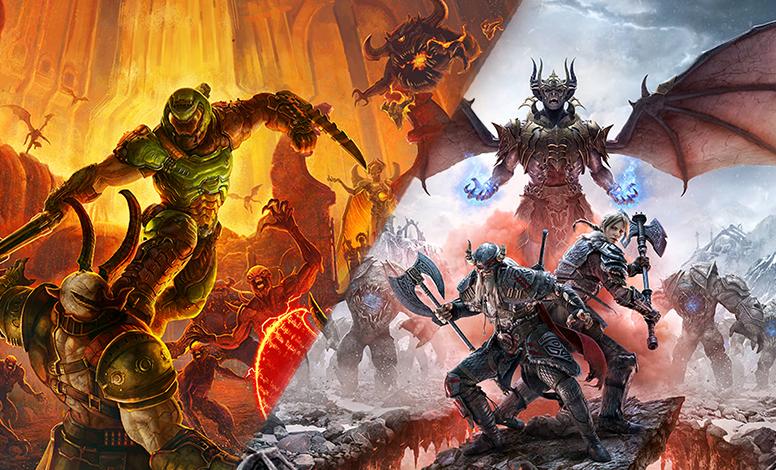 Photo of ألعاب DOOM Eternal و The Elder Scrolls Online قادمة رسمياً لجهاز Xbox Series X مع دعم لخاصية Smart Delivery .