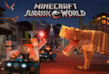 صورة إضافة Jurassic World متوفرة الآن في لعبة Minecraft !