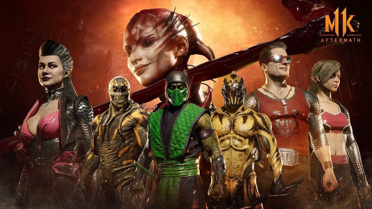 Mortal Kombat 11 seasonal skins