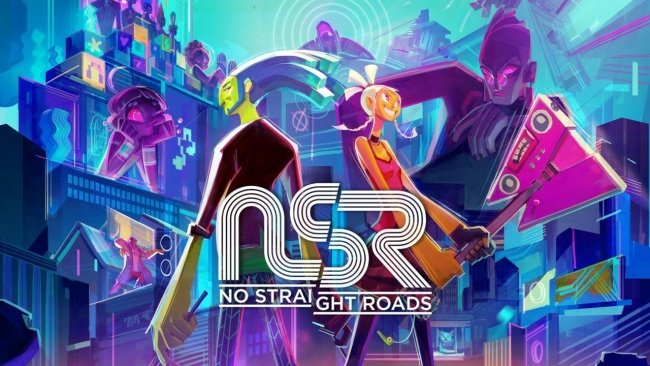No Straight Roads Cover Art