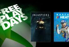 صورة Injustice 2 و Nascar Heat 5 مجاناً هذا الأسبوع !