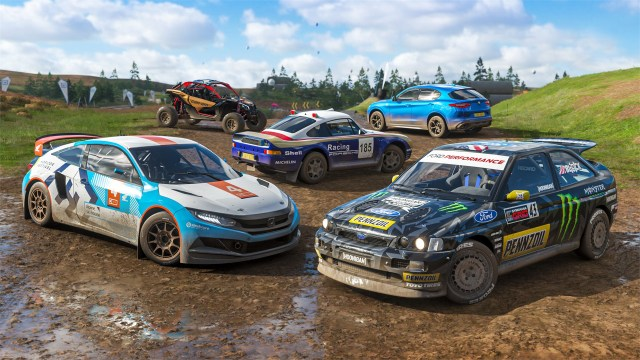 forza horizon 4 any terrain car pack