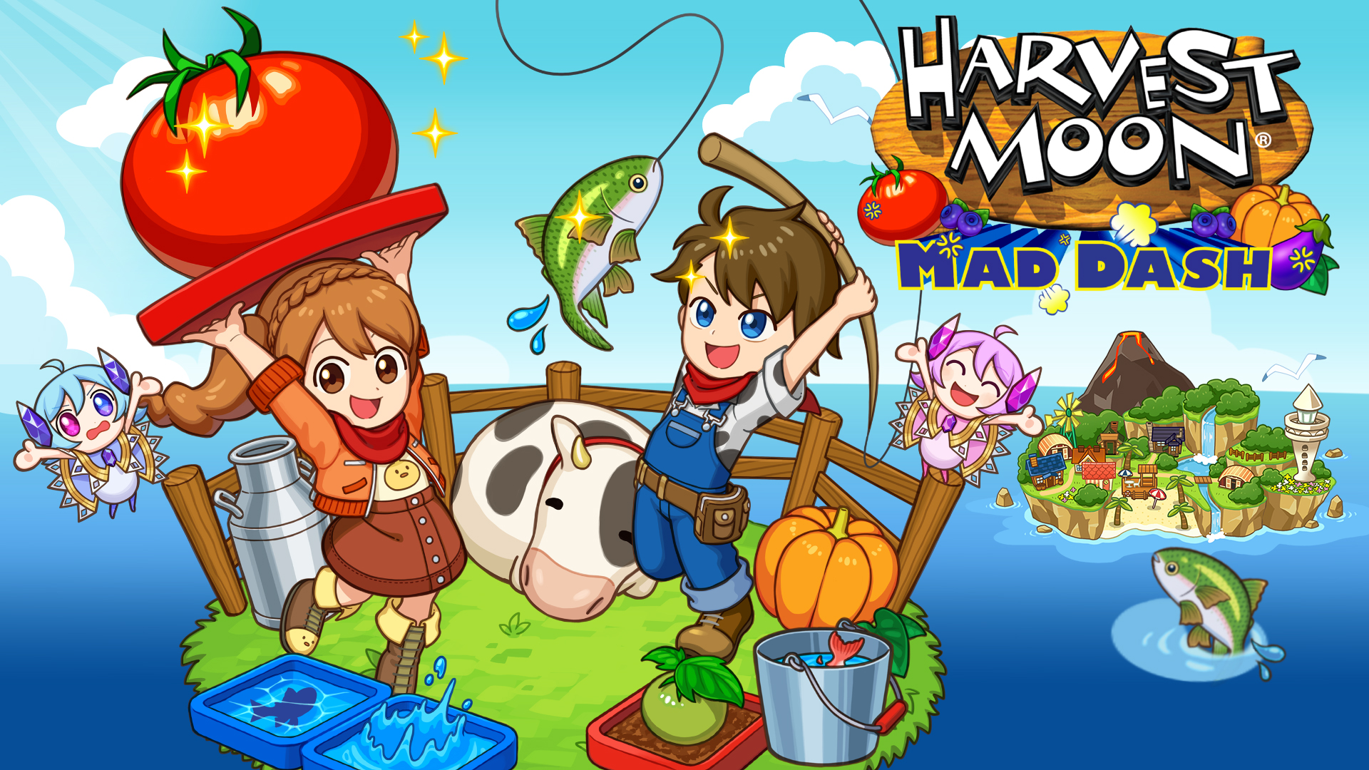harvest moon mad dash switch hero
