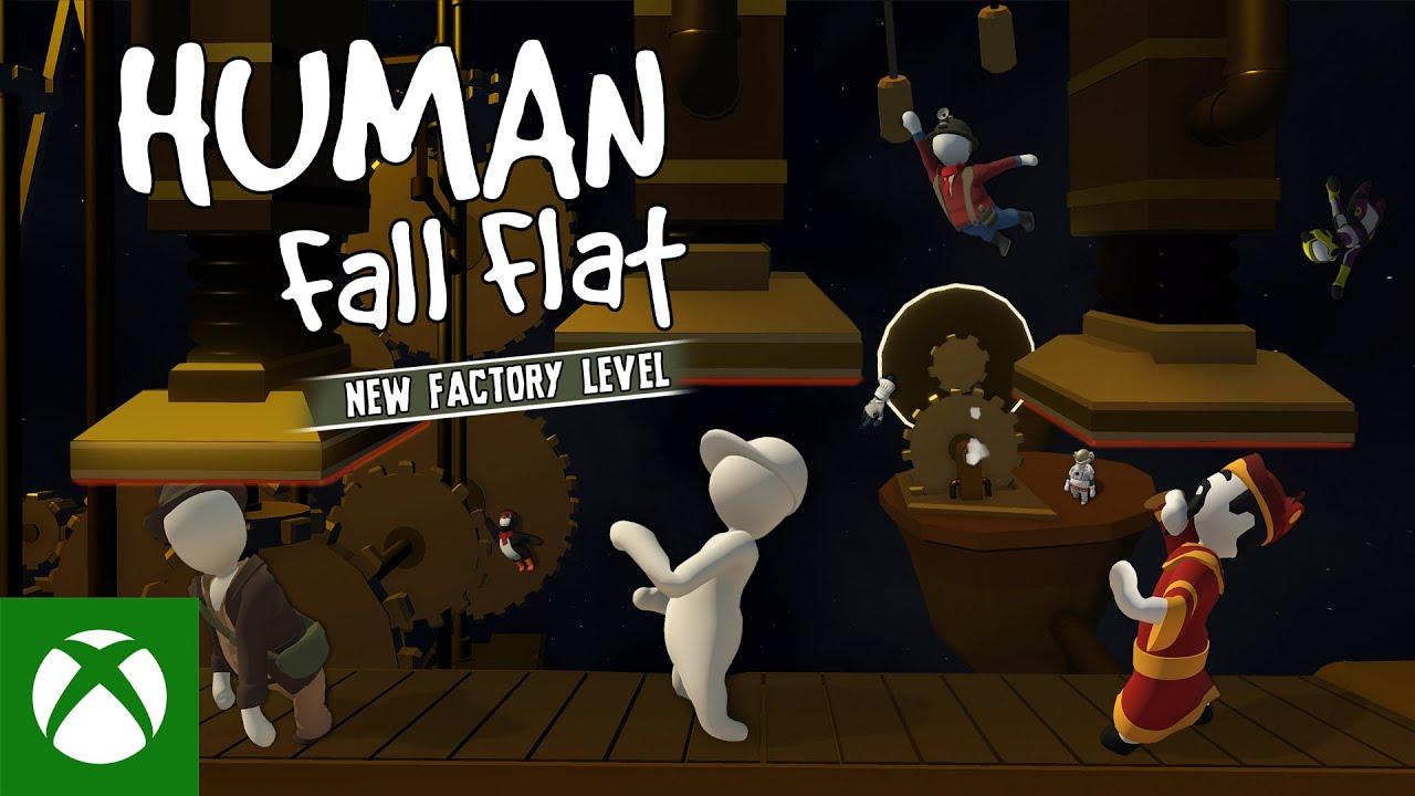 Photo of إضافة مرحلة جديدة للعبة Human Fall Flat