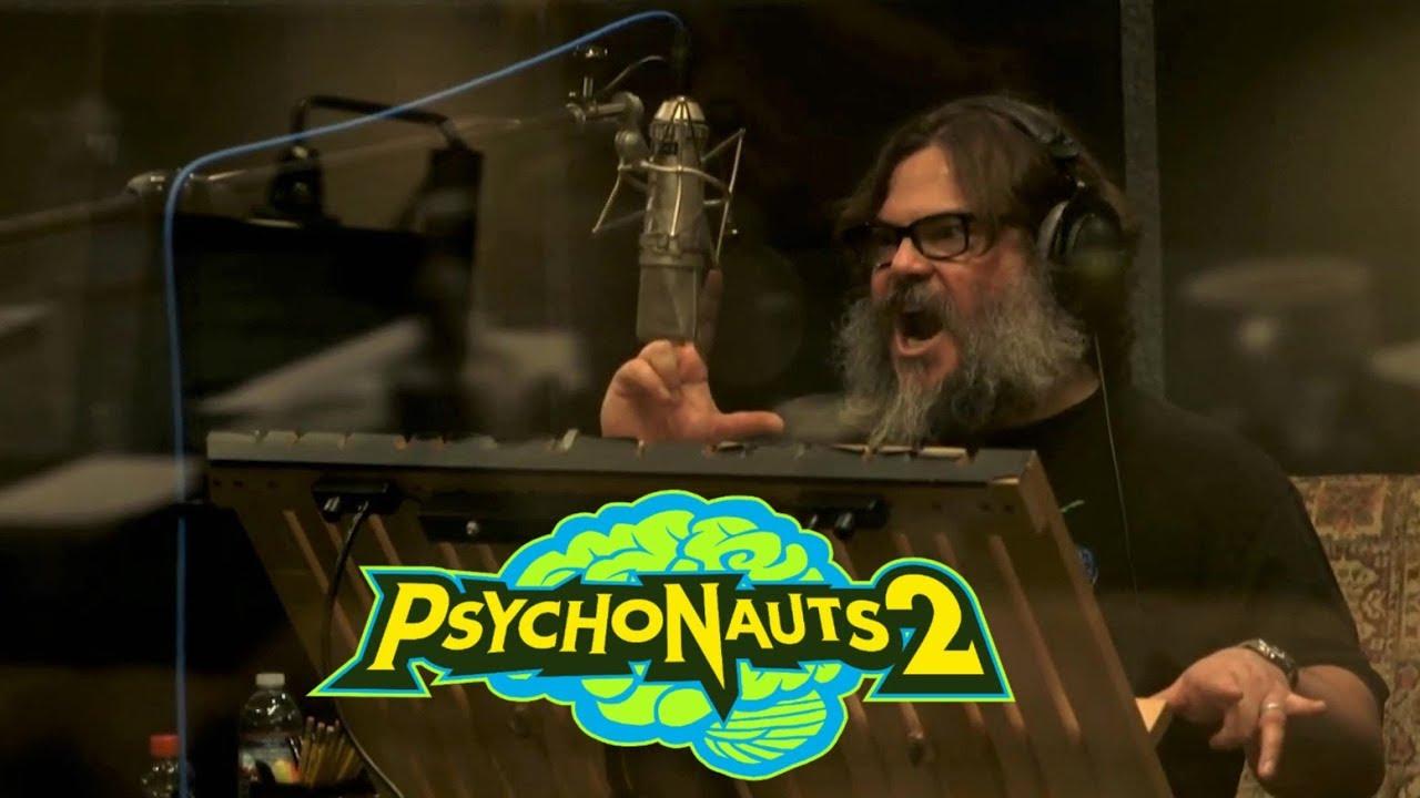 Photo of الممثل Jack Black يشاركنا باستعراض جديد للعبة Psychonauts 2 .