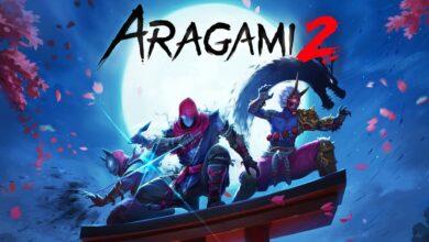 صورة الإعلان عن قدوم لعبة Aragami 2 في بدايات 2021