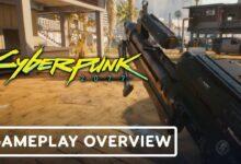 صورة استعراض جديد للعبة الار بي جي Cyberpunk 2077