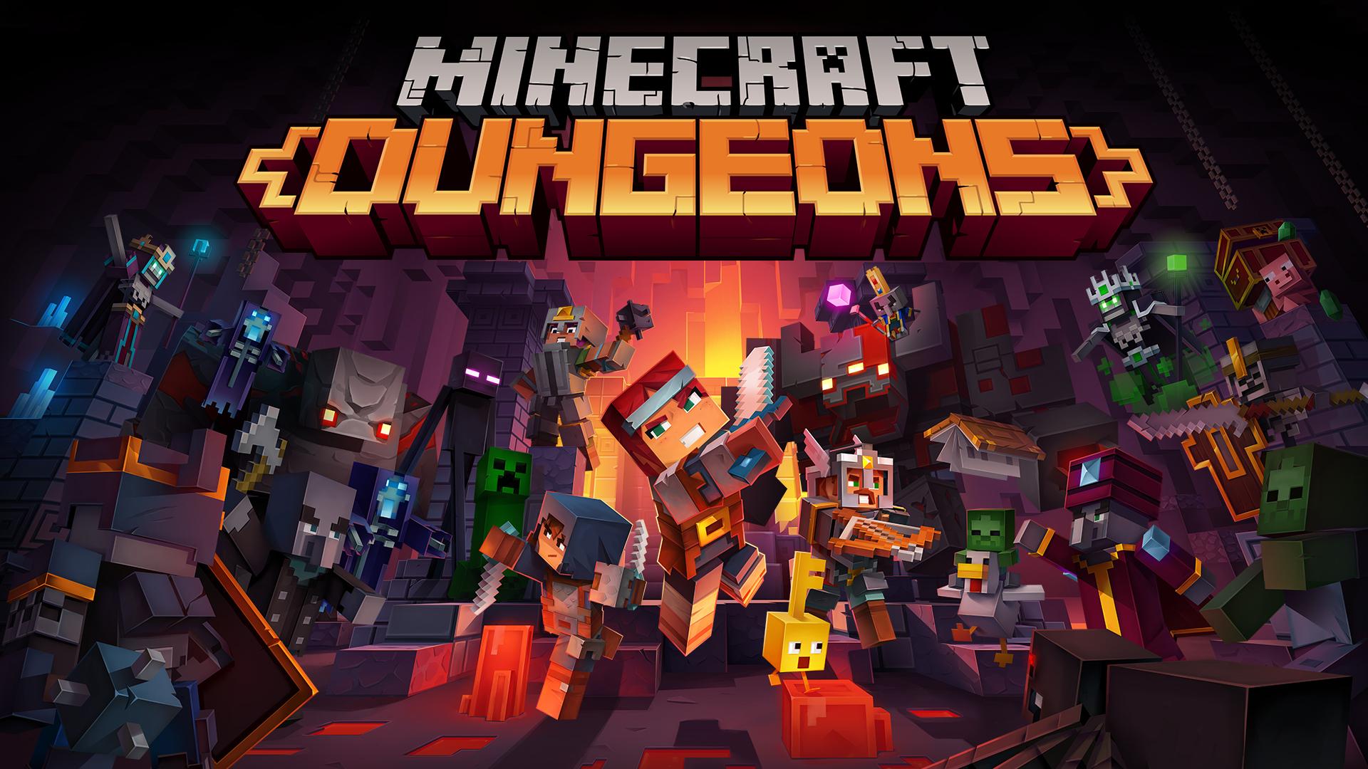 minecraft dungeons switch hero