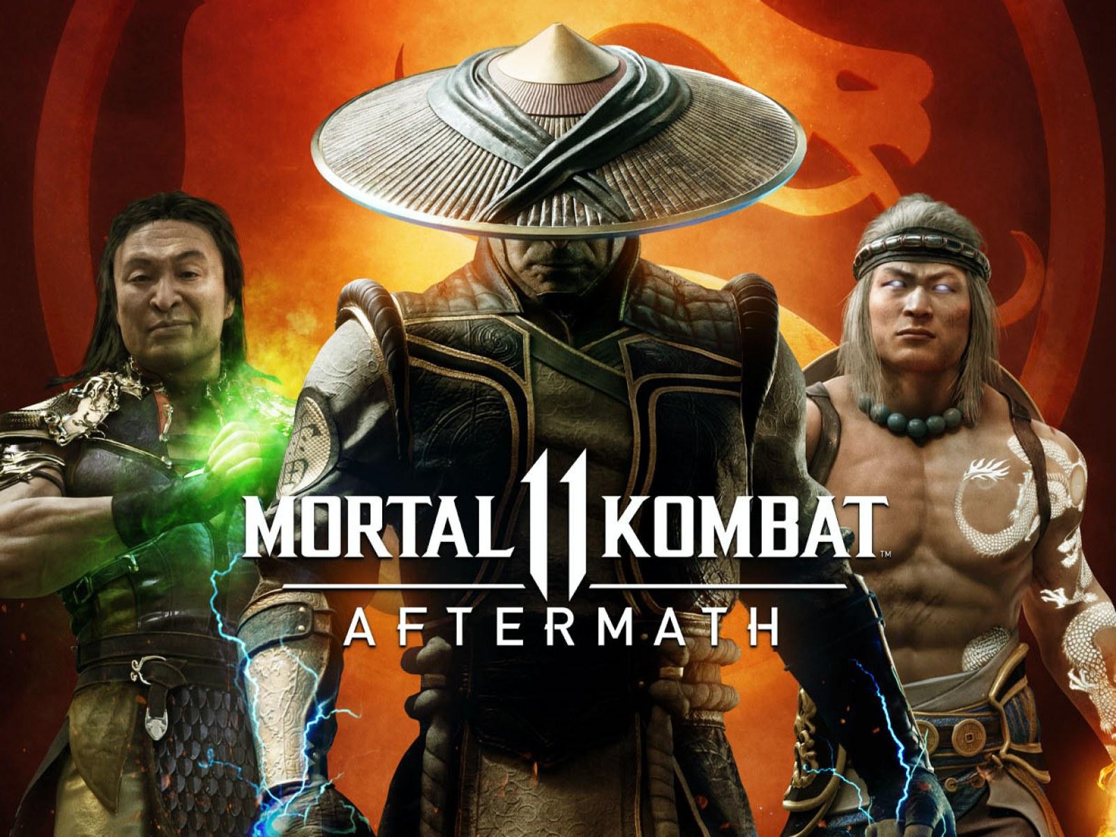mortal kombat 11 aftermath art