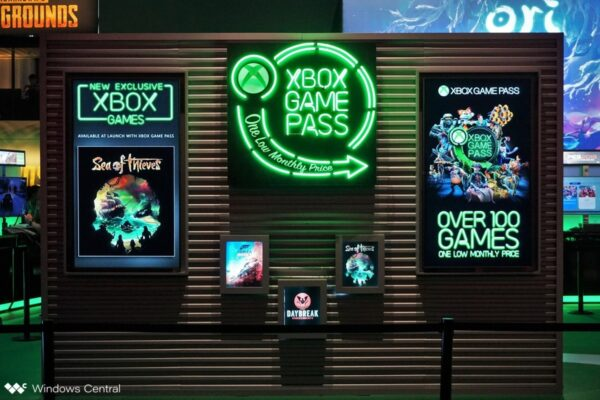 xbox game pass gamescom booth