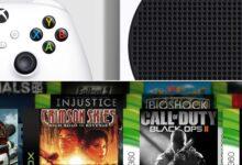 صورة جهاز Xbox Series S سيقوم بتشغيل العاب Xbox One S مع التحسينات