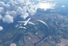 صورة استعراض لمراحل تطور لعبة Flight Simulator على مدار 38 عام