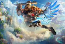 صورة تسريب موعد إصدار لعبة Immortals: Fenyx Rising .