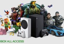 صورة يمكنك شراء الجيل القادم من أجهزة Xbox بالتقسيط المريح من خلال برنامج Xbox All Access .
