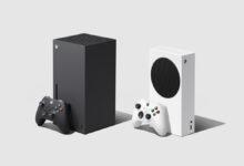 صورة شاهد مقارنة حجم اجهزة Xbox Series X/S مع Xbox one X