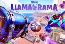 صورة تعاون مشترك جديد بين ألعاب Rocket League و Fortnite .
