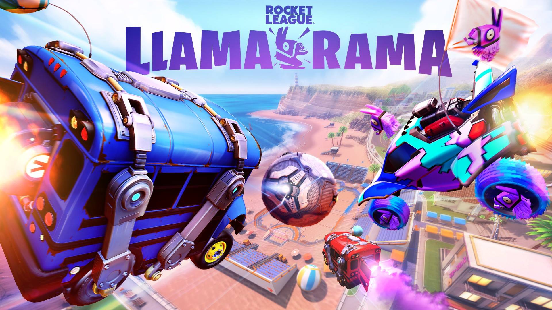 Llama Rama Fortnite Rocket League