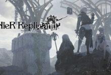 صورة الإعلان بشكل رسمي عن موعد إصدار لعبة NieR Replicant .