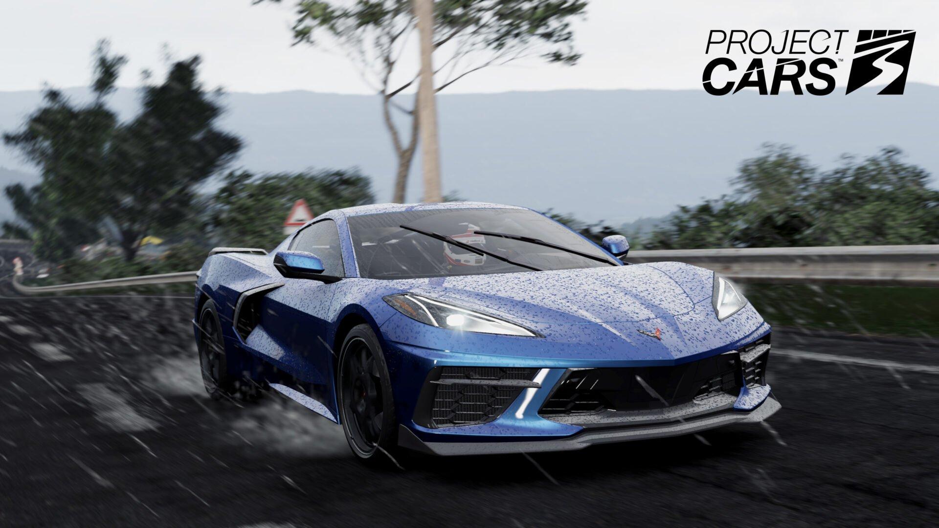 Project CARS 3 Corvette C8