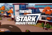 صورة تحديث جديد للعبة Fortnite بعنوان Stark Industries !