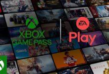 صورة الاعلان عن تعاون بين EA Play و Game Pass