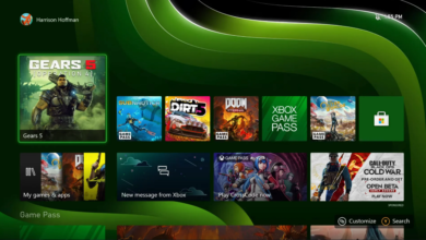 صورة الخلفيات المتحركة ستكون حصرية فقط لأجهزة Xbox Series X / S .
