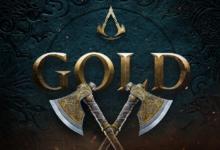 صورة لعبة Assassin's Creed Valhalla أصبحت ذهبية .