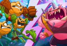 صورة لعبة Battletods تحتفل بمناسبة وصولها الى اكثر من مليون لاعب