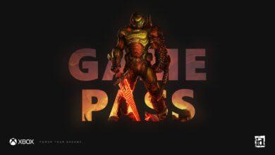 صورة لعبة Doom Eternal أصبحت متوفرة الآن من خلال خدمة Xbox Game Pass .