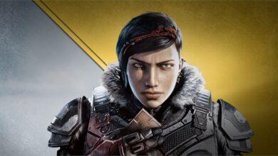 صورة لعبة Gears 5 وتحسُن كبير في مستوى الاستجابة على جهاز Xbox Series X .