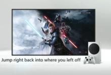 صورة خاصية Quick Resume تستمر بالعمل حتى بعد إغلاق جهاز Xbox Series X تماماً .