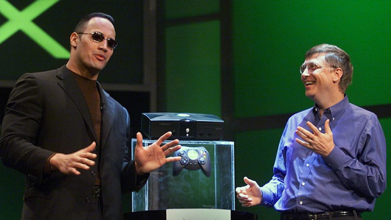the rock bill gates xbox 1280x720 1