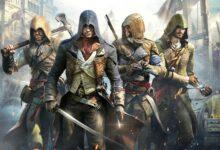 صورة جهاز Xbox Series X تمكن من تشغيل لعبة Assassin's Creed Unity بسرعة 60 إطار ثابتة .