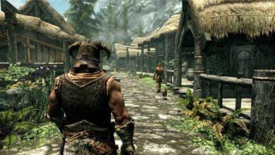 صورة لعبة Skyrim تعمل بسرعة 60 اطار عند تحميل مود على Xbox Series X
