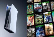 صورة جهاز Xbox Series X أسرع من PS5 فيما يتعلق بتشغيل بعض ألعاب التوافق المسبق .