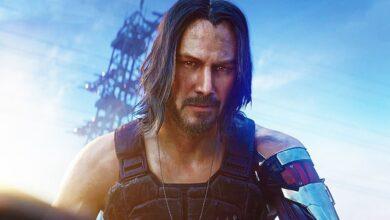 صورة الممثل Keanu Reeves تمكن من تجربة Cyberpunk 2077 وأعجبته كثيراً .