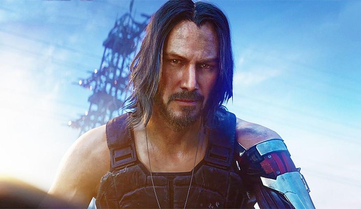 Cyberpunk 2077 Keanu Reeves Johnny Silverhand 1