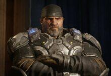 صورة لعبة Gears 5 تبدو مذهلة على جهاز Xbox Series X .