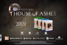 صورة الإعلان بشكل رسمي عن لعبة The Dark Pictures: House Of Ashes .